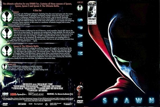 dvd cover Spawn