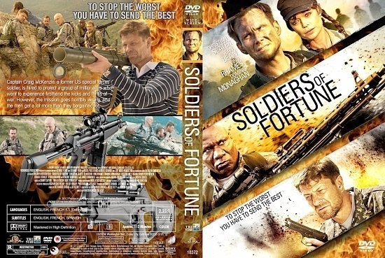 dvd cover Soldiers of Fortune