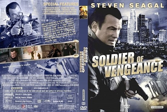 dvd cover Soldier Of Vengeance