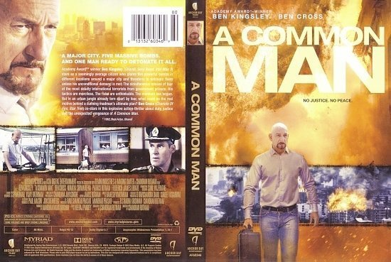 dvd cover A Common Man