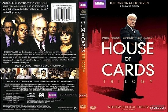 dvd cover House Of Cards Trilogy