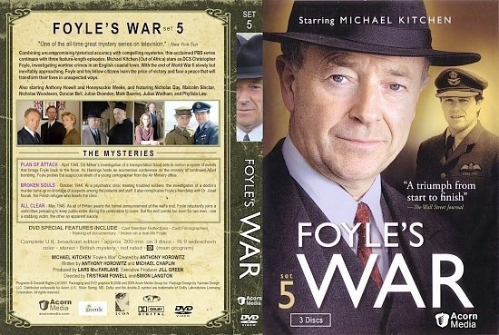 dvd cover Foyle's War Set 5