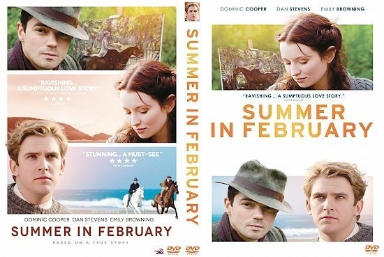dvd cover Summer in February