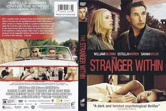 dvd cover The Stranger Within R1