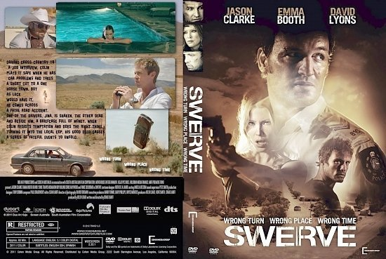 dvd cover Swerve