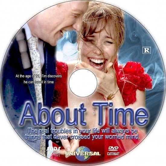 dvd cover About Time R1 Custom CD Cover