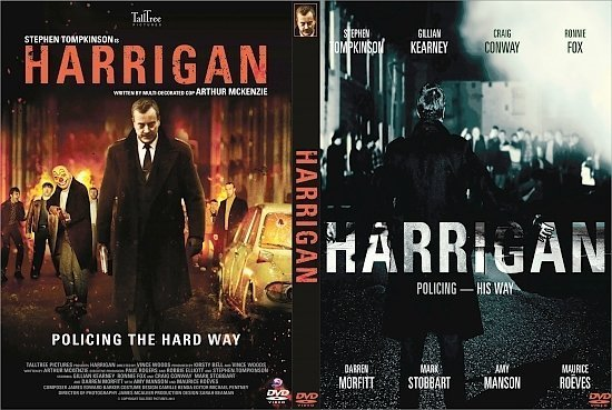dvd cover Harrigan