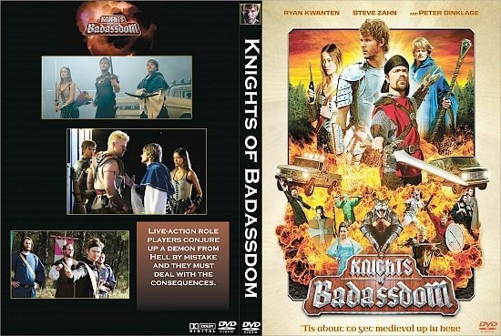 dvd cover Knights of Badassdom