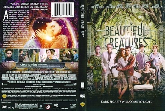 dvd cover Beautiful Creatures