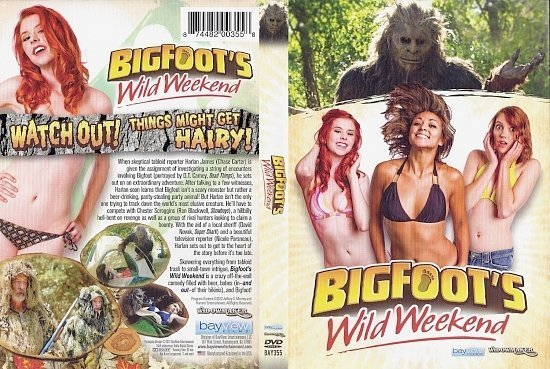 dvd cover Bigfoots Wild Weekend