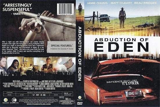 dvd cover Abduction Of Eden R1