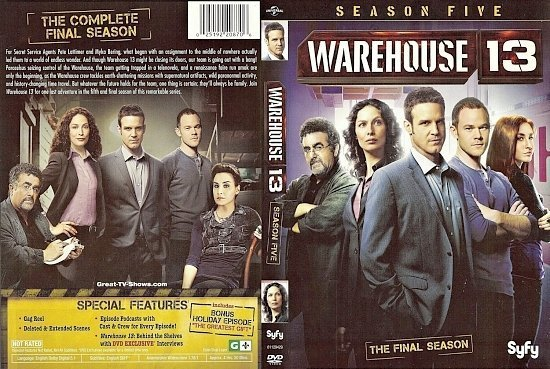 dvd cover Warehouse 13