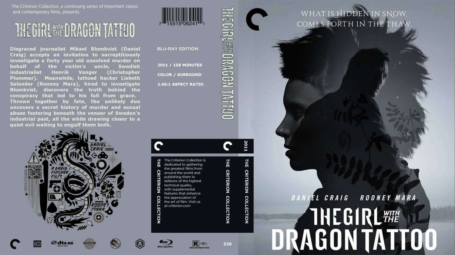 The girl with the dragon tattoo the criterion collection for The girl with the dragon tattoo soundtrack