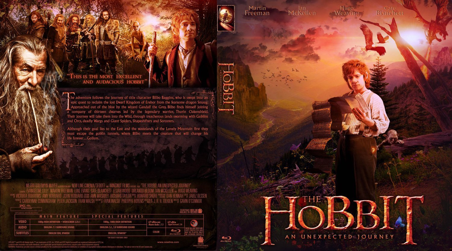 The hobbit movie poster shop