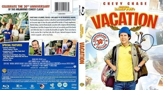 dvd cover National Lampoon's Vacation