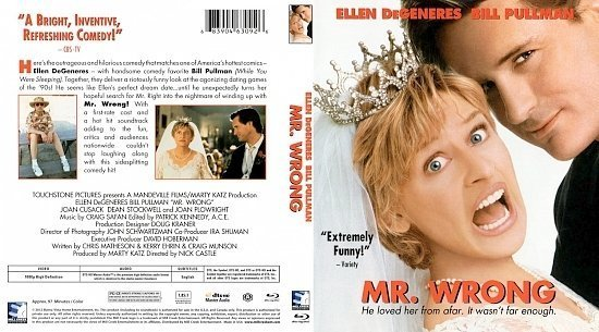 dvd cover Mr. Wrong