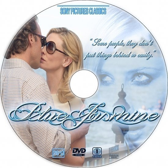 dvd cover Blue Jasmine R1 Custom