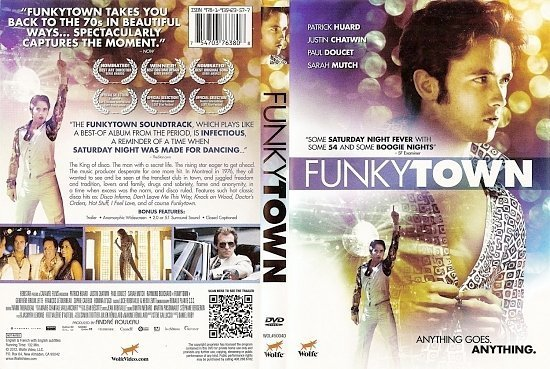 dvd cover Funkytown