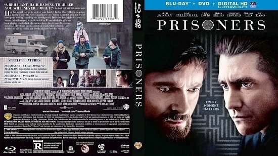 dvd cover Prisoners