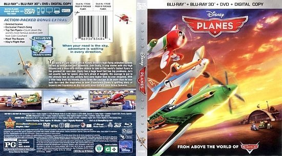 dvd cover Planes 3D