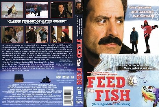 dvd cover Feed The Fish (2009) R1