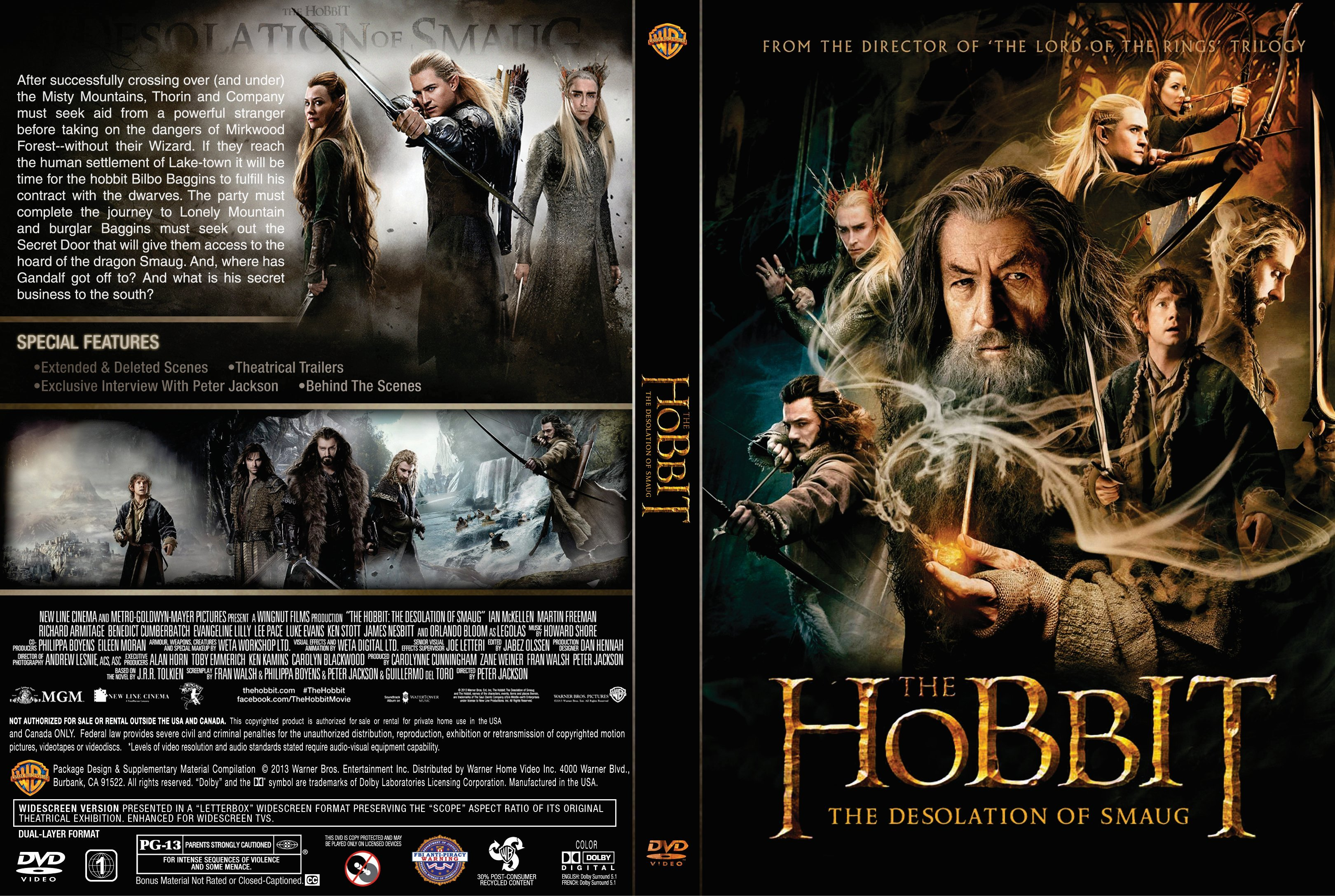 a report on the hobbit the desolation of smaug by jrr tolkien