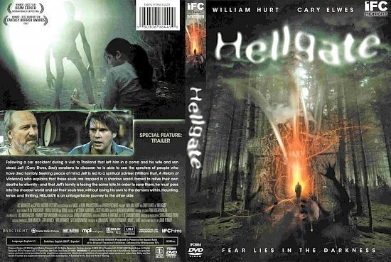 dvd cover Hellgate