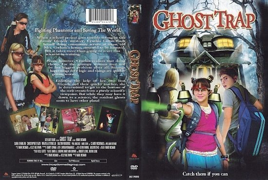 dvd cover Ghost Trap