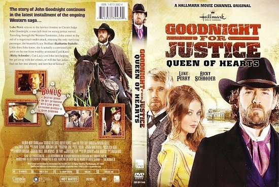 dvd cover Goodnight For Justice Queen Of Hearts