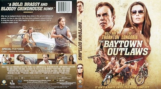 dvd cover The Baytown Outlaws