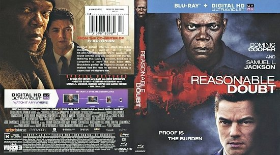 dvd cover Reasonable Doubt