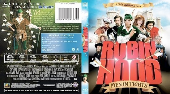 dvd cover Robin Hood Men In Tights