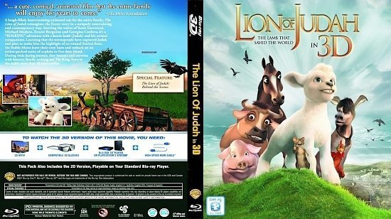 dvd cover The Lion of Judah Bluray