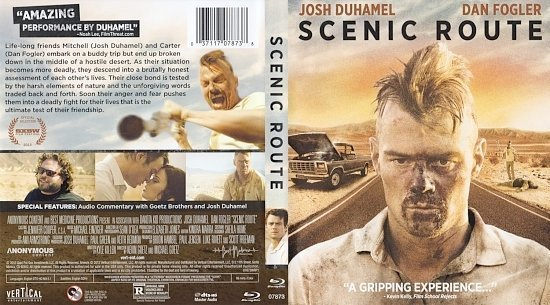 dvd cover Scenic Route