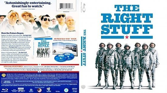 dvd cover The Right Stuff