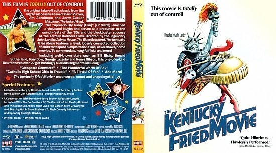 dvd cover The Kentucky Fried Movie