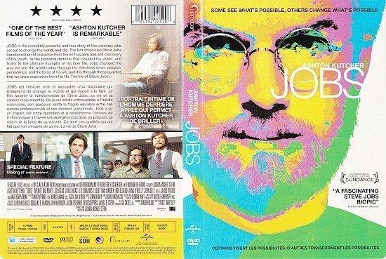 dvd cover Jobs Bilingual