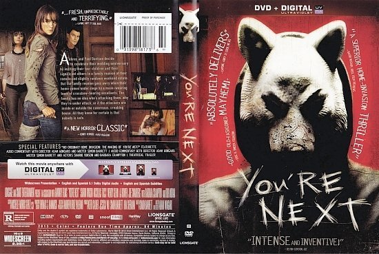 dvd cover You're Next R1