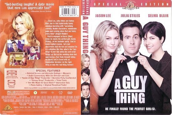 dvd cover A Guy Thing (2003) R1