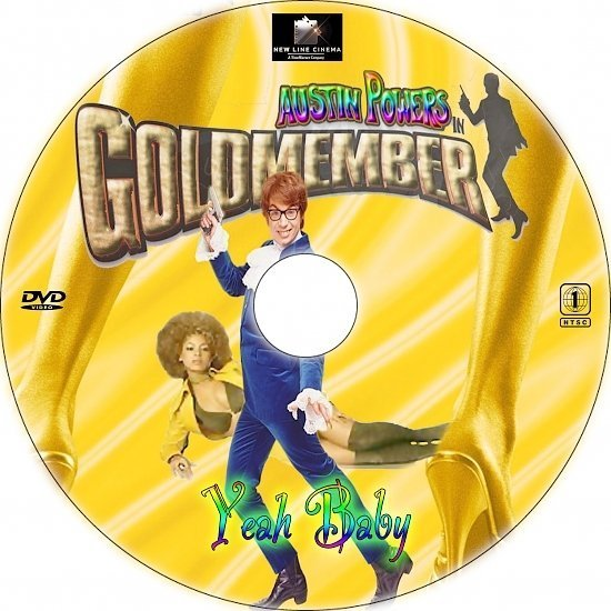 dvd cover Austin Powers in Goldmember (2002) R1 Custom CD Cover