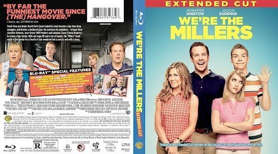 dvd cover We're The Millers Extended