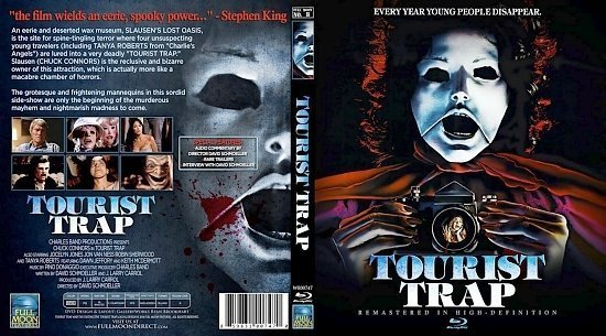dvd cover Tourist Trap
