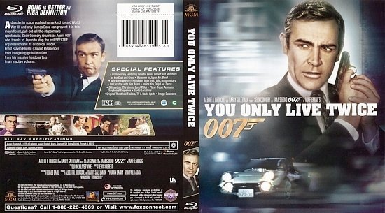 dvd cover You Only Live Twice