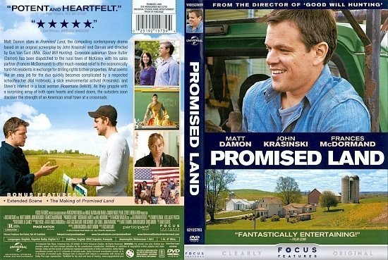 dvd cover Promised Land