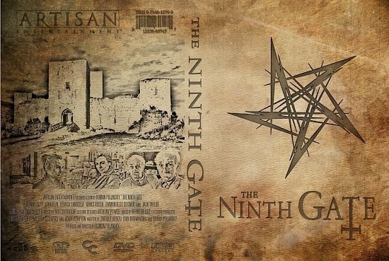 dvd cover The Ninth Gate