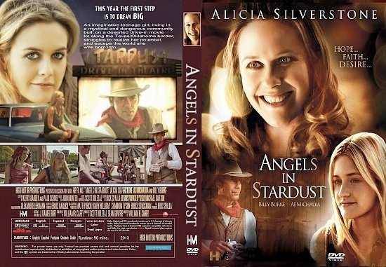 dvd cover Angels In Stardust R1 CUSTOM