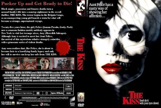 dvd cover The Kiss
