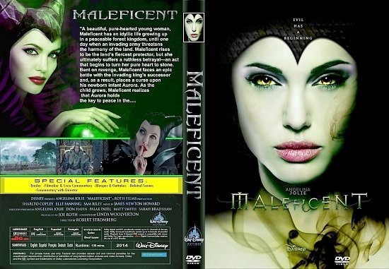 dvd cover Maleficent R1