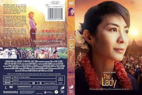 dvd cover The Lady