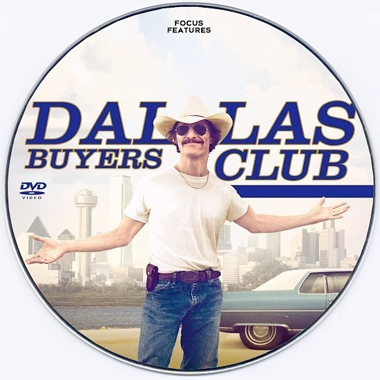 dvd cover Dallas Buyers Club Custom CD Cover